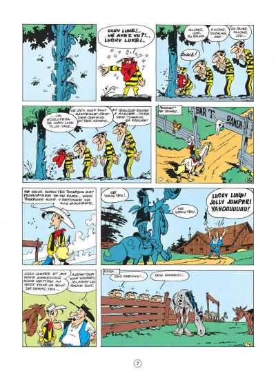 Page 7 lucky luke tome 17 - sur la piste des dalton