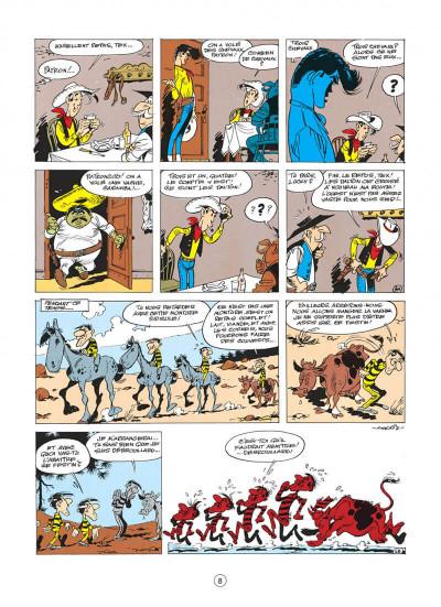 Page 8 lucky luke tome 17 - sur la piste des dalton