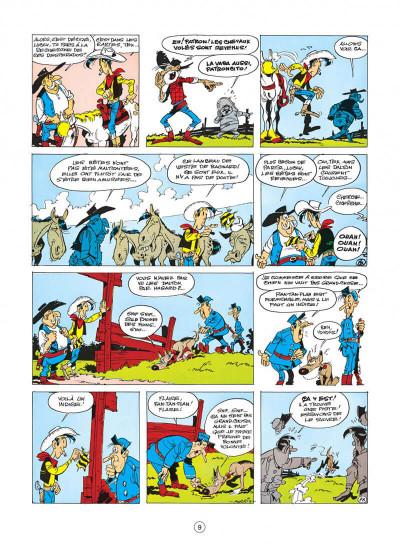 Page 9 lucky luke tome 17 - sur la piste des dalton