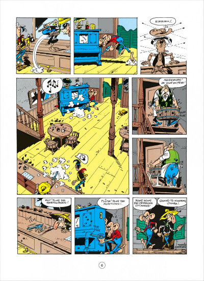 Page 2 lucky luke tome 19 - les rivaux de painful gulch