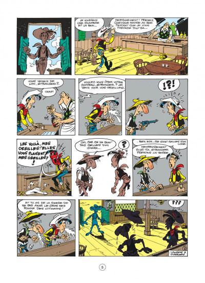 Page 5 lucky luke tome 19 - les rivaux de painful gulch