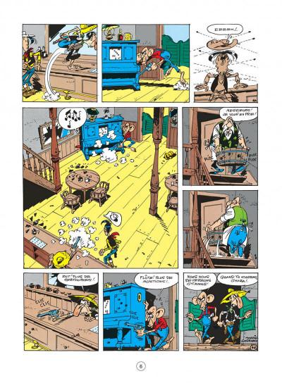 Page 6 lucky luke tome 19 - les rivaux de painful gulch