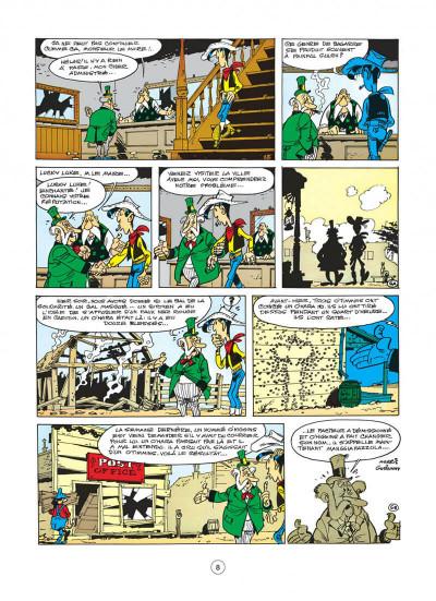Page 8 lucky luke tome 19 - les rivaux de painful gulch