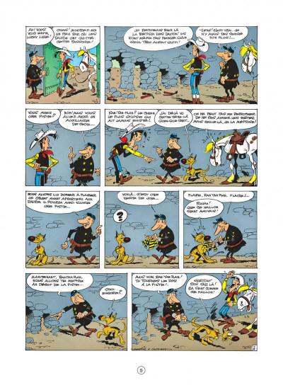 Page 5 lucky luke tome 22 - les dalton dans le blizzard
