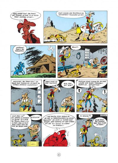 Page 6 lucky luke tome 22 - les dalton dans le blizzard