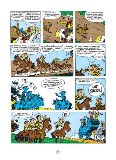 Page 7 lucky luke tome 22 - les dalton dans le blizzard