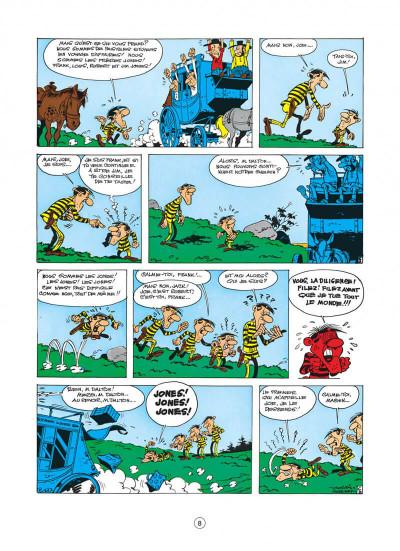 Page 8 lucky luke tome 22 - les dalton dans le blizzard