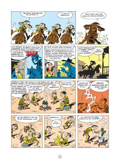 Page 9 lucky luke tome 22 - les dalton dans le blizzard