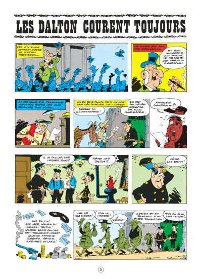 Page 3 lucky luke tome 23 - les dalton courent toujours