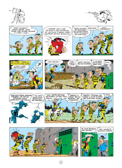 Page 5 lucky luke tome 23 - les dalton courent toujours