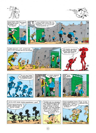 Page 6 lucky luke tome 23 - les dalton courent toujours