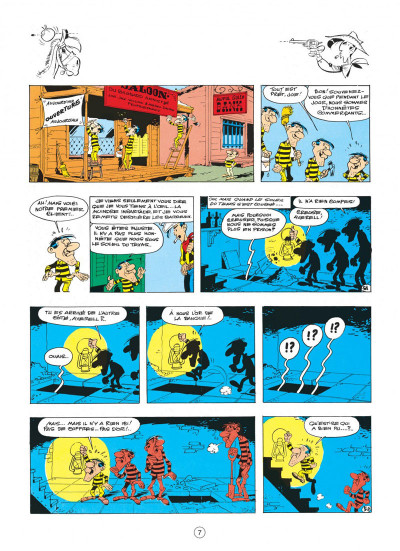 Page 7 lucky luke tome 23 - les dalton courent toujours