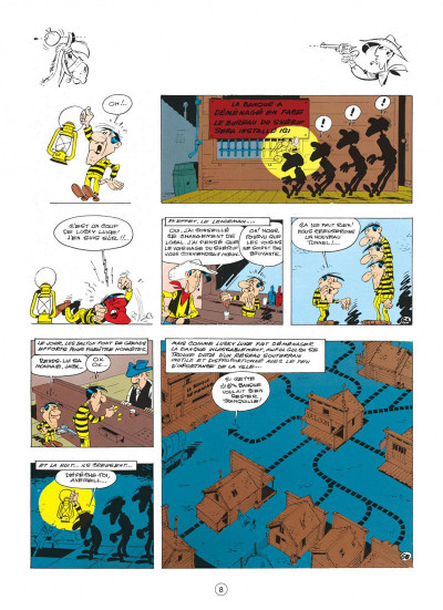 Page 8 lucky luke tome 23 - les dalton courent toujours