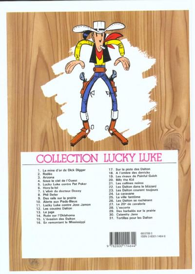 Dos Lucky Luke tome 24 - La caravane