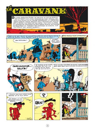 Page 3 Lucky Luke tome 24 - La caravane
