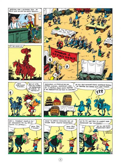 Page 5 Lucky Luke tome 24 - La caravane