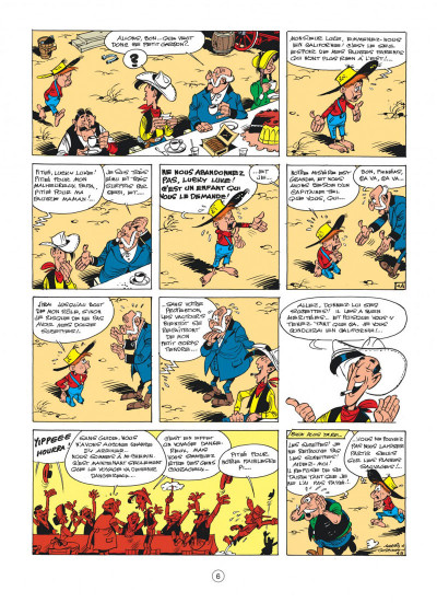 Page 6 Lucky Luke tome 24 - La caravane
