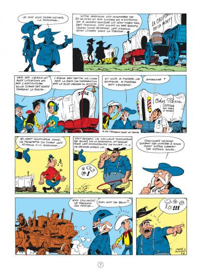 Page 7 Lucky Luke tome 24 - La caravane
