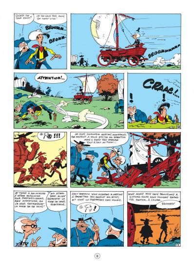 Page 8 Lucky Luke tome 24 - La caravane