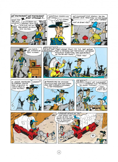 Page 4 lucky luke tome 27 - le 20ème de cavalerie