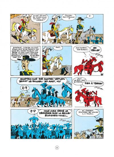 Page 8 lucky luke tome 27 - le 20ème de cavalerie