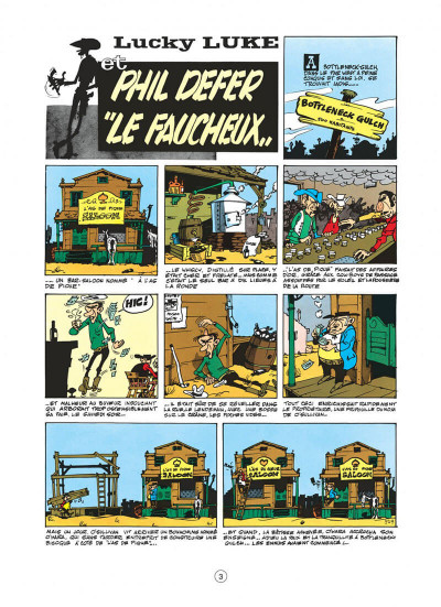 Page 3 lucky luke tome 8 - phil defer