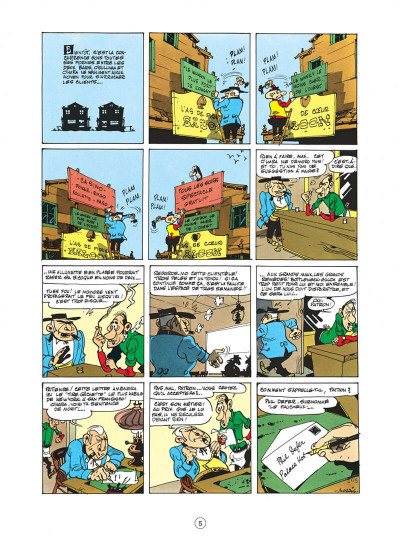 Page 5 lucky luke tome 8 - phil defer