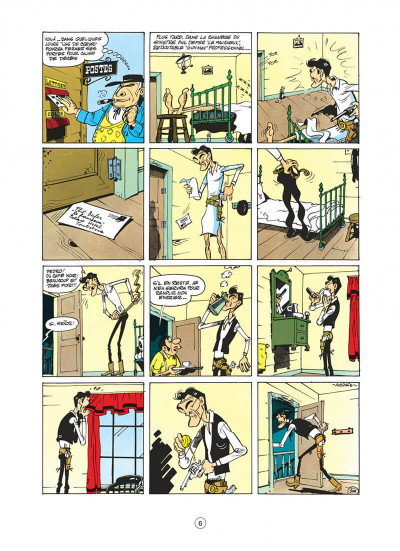 Page 6 lucky luke tome 8 - phil defer