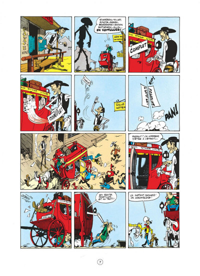 Page 7 lucky luke tome 8 - phil defer