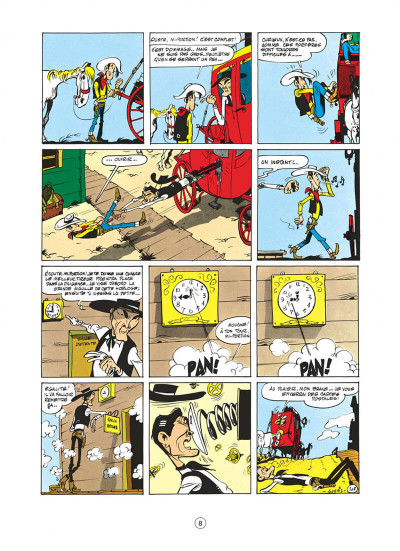 Page 8 lucky luke tome 8 - phil defer