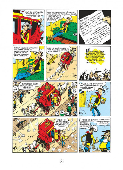 Page 9 lucky luke tome 8 - phil defer