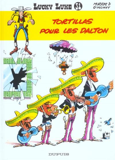 Couverture lucky luke tome 31 - tortillas pour les dalton