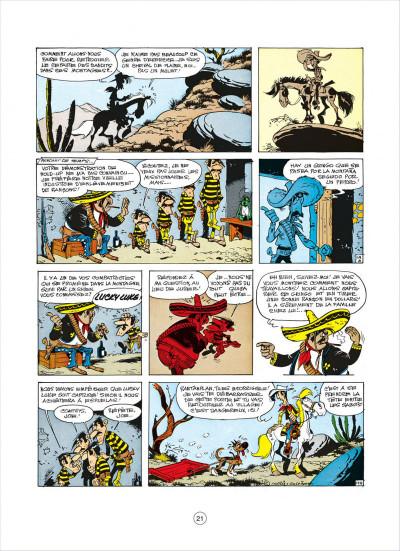 Page 1 lucky luke tome 31 - tortillas pour les dalton
