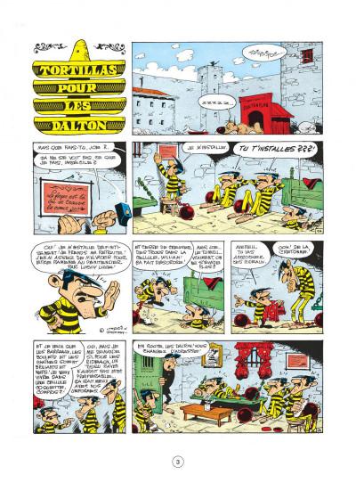 Page 3 lucky luke tome 31 - tortillas pour les dalton