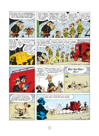 Page 4 lucky luke tome 31 - tortillas pour les dalton