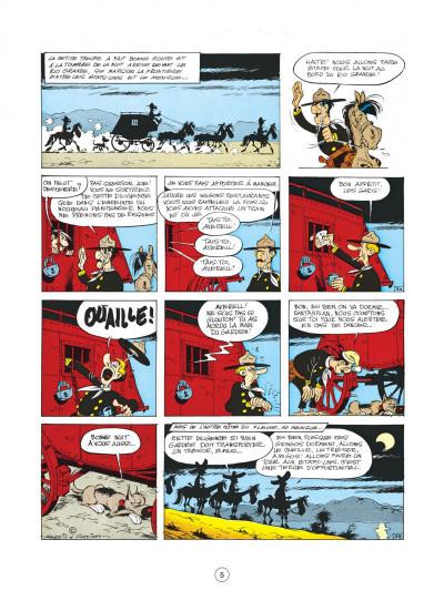 Page 5 lucky luke tome 31 - tortillas pour les dalton