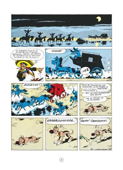 Page 6 lucky luke tome 31 - tortillas pour les dalton