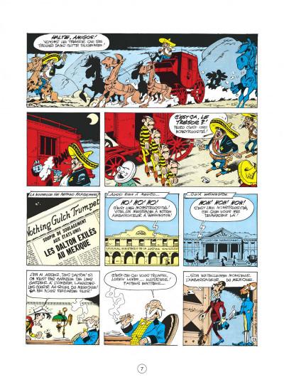 Page 7 lucky luke tome 31 - tortillas pour les dalton