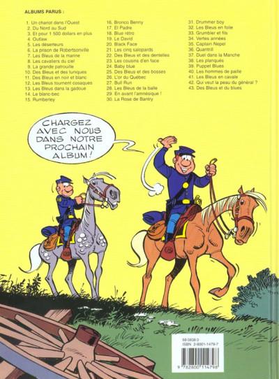 Dos les tuniques bleues tome 26 - l'or du quebec
