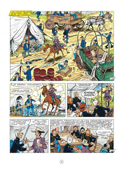 Page 3 les tuniques bleues tome 26 - l'or du quebec