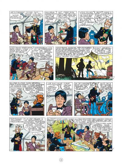 Page 4 les tuniques bleues tome 26 - l'or du quebec