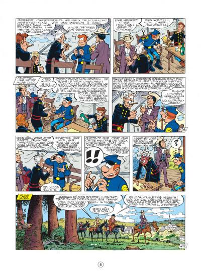 Page 6 les tuniques bleues tome 26 - l'or du quebec