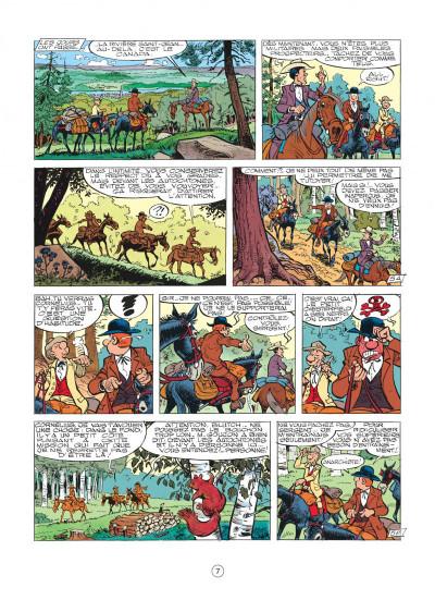 Page 7 les tuniques bleues tome 26 - l'or du quebec