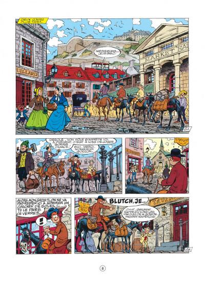 Page 8 les tuniques bleues tome 26 - l'or du quebec