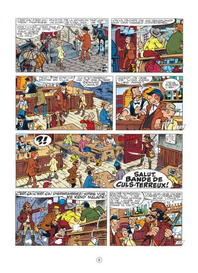 Page 9 les tuniques bleues tome 26 - l'or du quebec