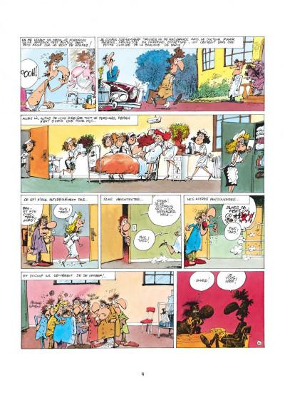 Page 4 les femmes en blanc tome 2 - gaze à tous les étages