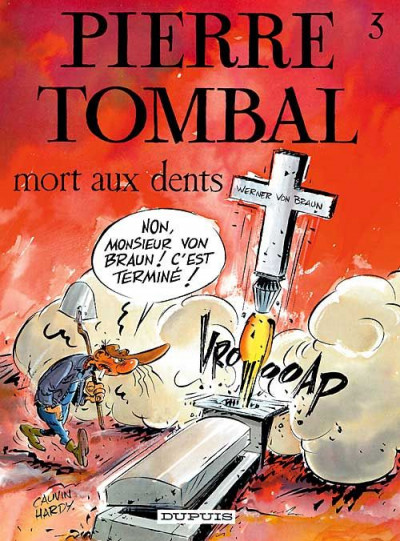 Couverture pierre tombal tome 3 - mort aux dents