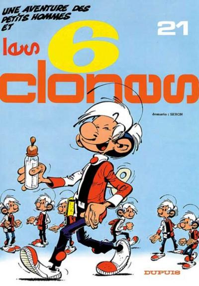 Couverture Les petits hommes tome 21 - les 6 clones