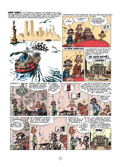 Page 3 spirou et fantasio tome 39 - à new york