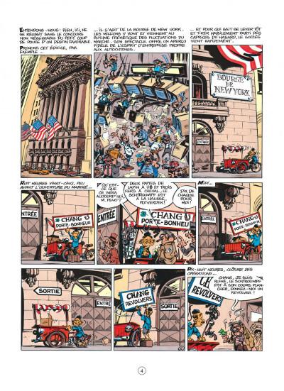 Page 4 spirou et fantasio tome 39 - à new york